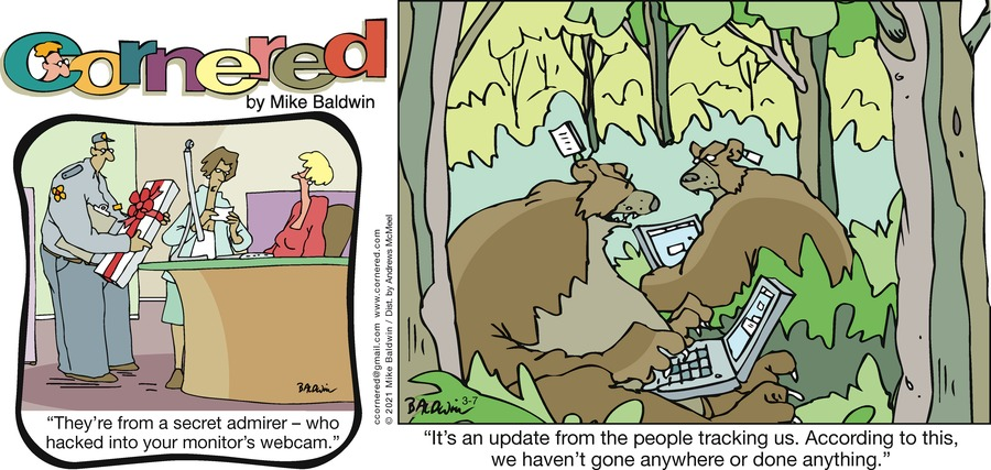 Cornered Comic Strip for March 07, 2021