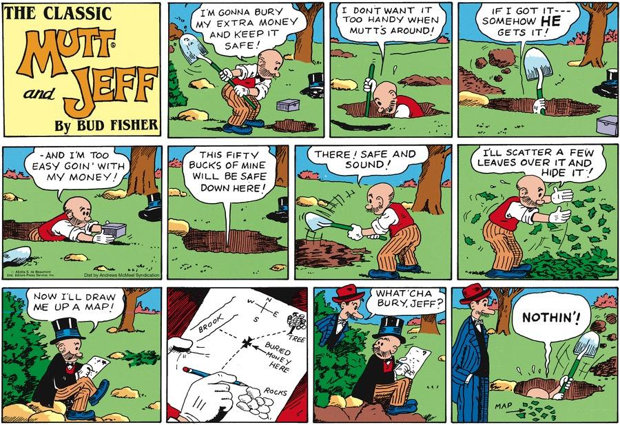 Mutt & Jeff Comic Strip for September 15, 2019