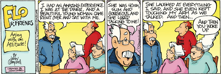 Flo and Friends for Dec 2, 2012 Comic Strip