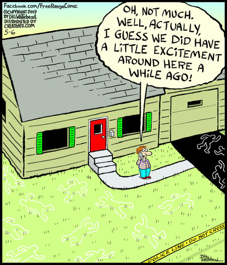 Free Range by Bill Whitehead for May 06, 2019