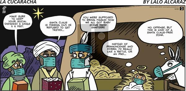 La Cucaracha on Sunday December 20, 2020 Comic Strip