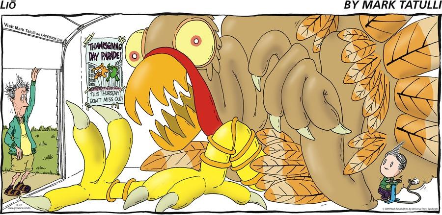 Lio for Nov 22, 2009 Comic Strip