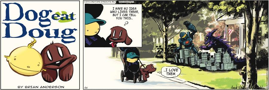 Dog Eat Doug Comic Strip for November 10, 2013