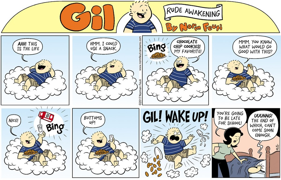 Gil Comic Strip for May 30, 2021