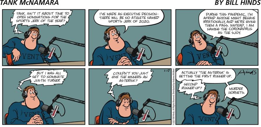 Tank McNamara Comic Strip for January 17, 2021
