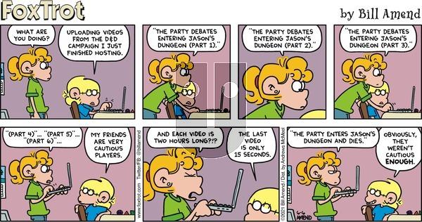 FoxTrot - Sunday June 6, 2021 Comic Strip