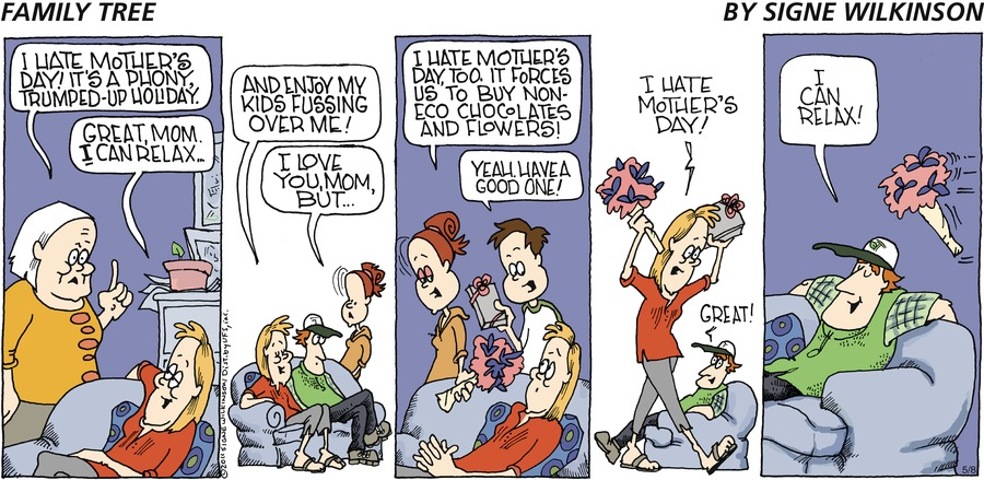 Family Tree by Signe Wilkinson for May 12, 2019