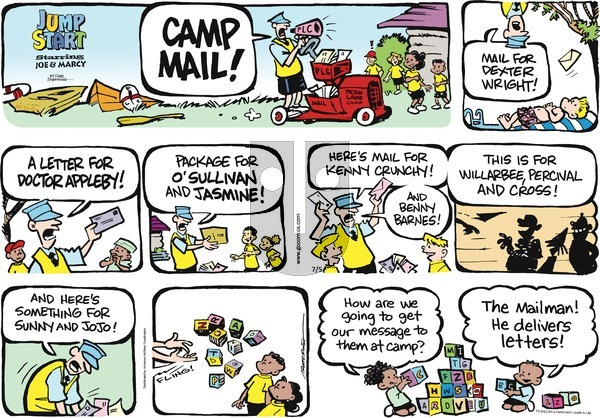 JumpStart on Sunday July 5, 2020 Comic Strip