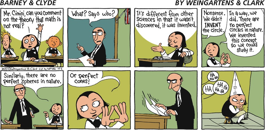 Barney & Clyde Comic Strip for October 06, 2013