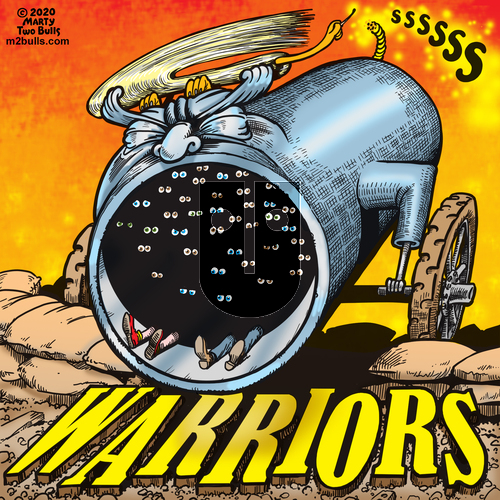 M2Bulls on Thursday May 14, 2020 Comic Strip