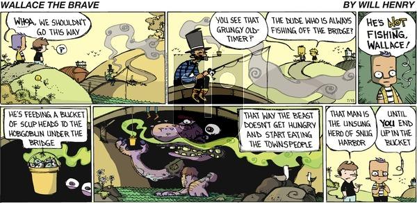 Wallace the Brave - Sunday July 15, 2018 Comic Strip