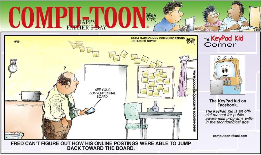 Compu-toon Comic Strip for June 15, 2014
