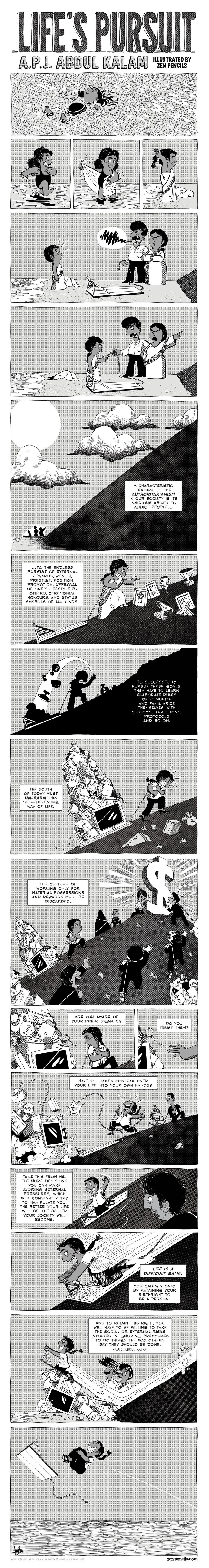 Zen Pencils Comic Strip for January 01, 2018
