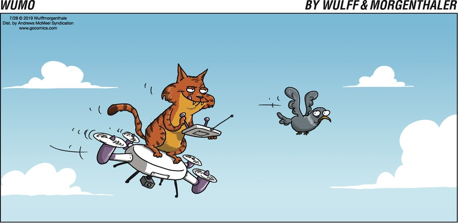 WuMo Comic Strip for July 28, 2019