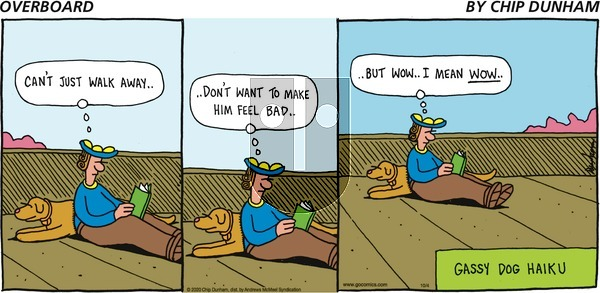 Overboard - Sunday October 4, 2020 Comic Strip