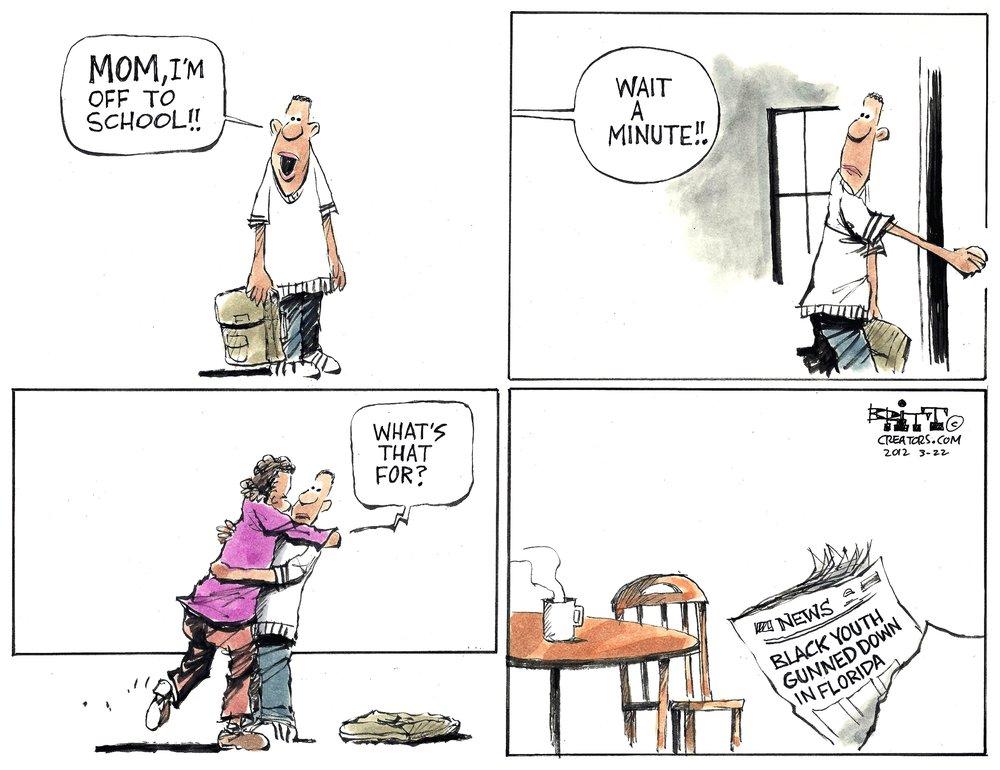 Chris Britt Comic Strip for March 22, 2012