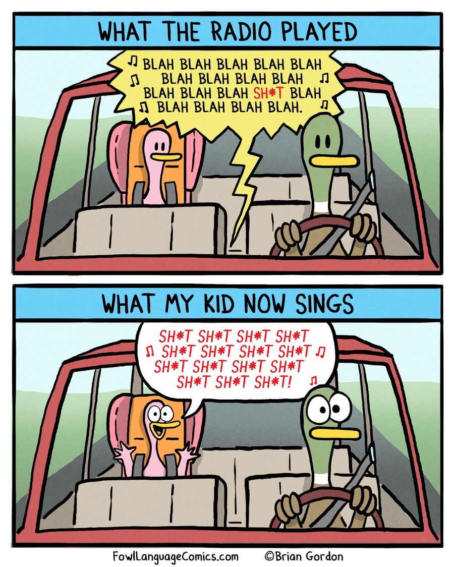 What the radio played