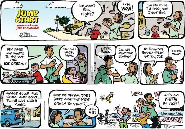 JumpStart on Sunday June 17, 2018 Comic Strip