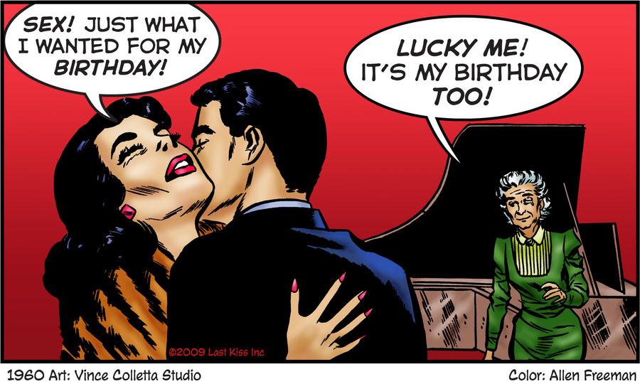 Last Kiss Comic Strip for September 20, 2019