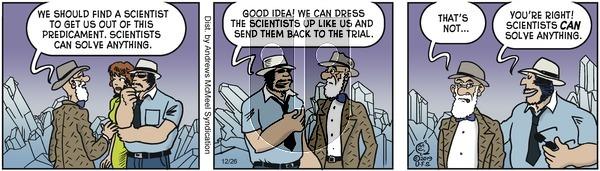 Alley Oop - Thursday December 26, 2019 Comic Strip