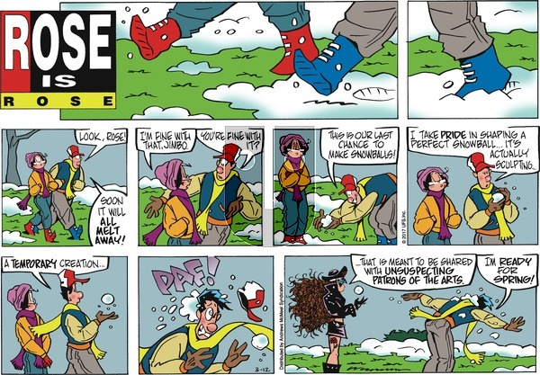 Rose is Rose on Sunday March 12, 2017 Comic Strip