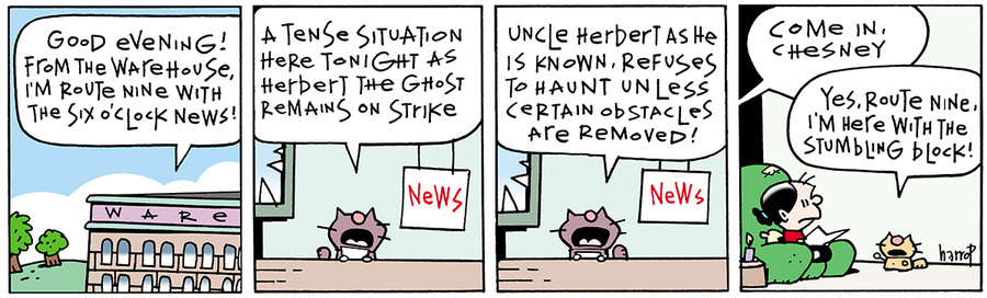 Ten Cats Comic Strip for August 19, 2013