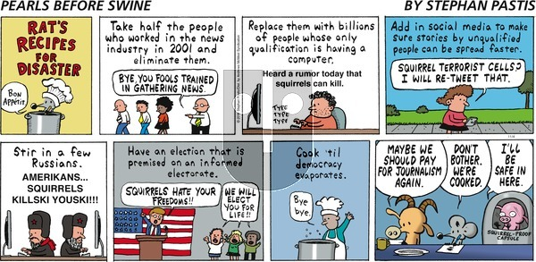 Pearls Before Swine on November 4, 2018 Comic Strip
