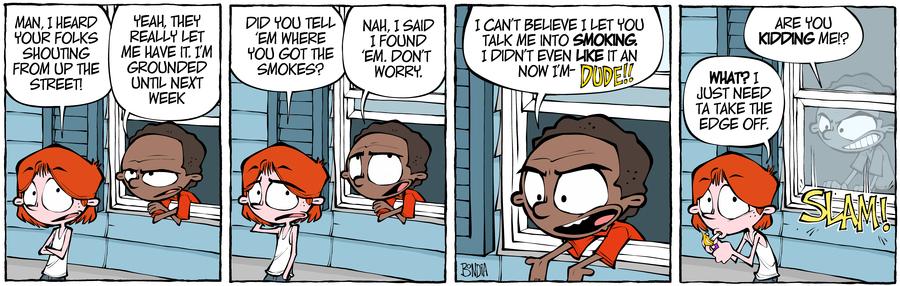 Crabgrass Comic Strip for November 08, 2019