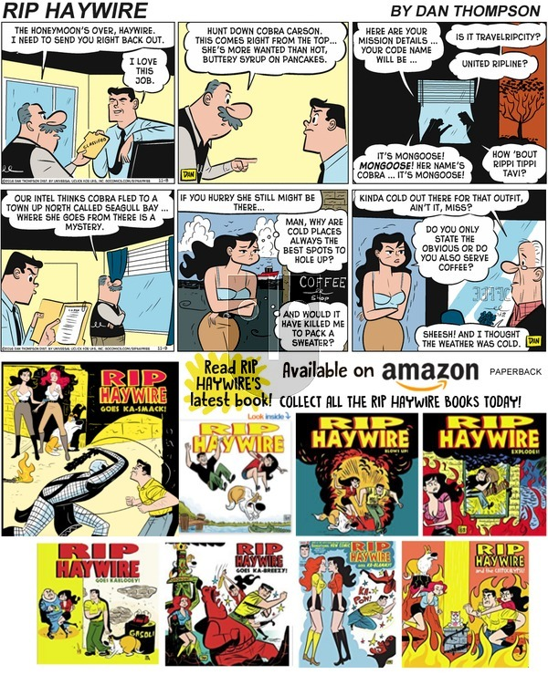 Rip Haywire on Sunday December 8, 2019 Comic Strip