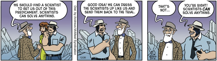 Alley Oop Comic Strip for December 26, 2019
