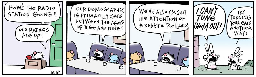 Ten Cats Comic Strip for April 21, 2021