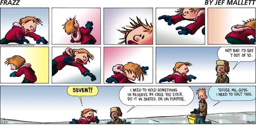 Frazz Comic Strip for February 23, 2014