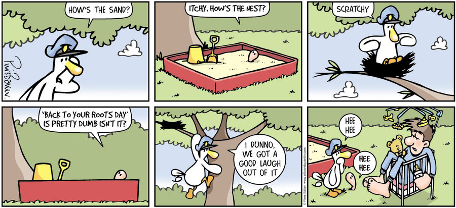 Ollie and Quentin Comic Strip for October 20, 2019