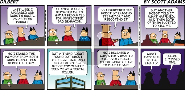 Dilbert on Sunday December 1, 2019 Comic Strip