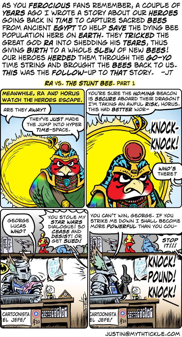 MythTickle for Jan 14, 2013 Comic Strip