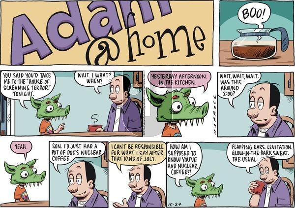Adam@Home on Sunday October 27, 2019 Comic Strip