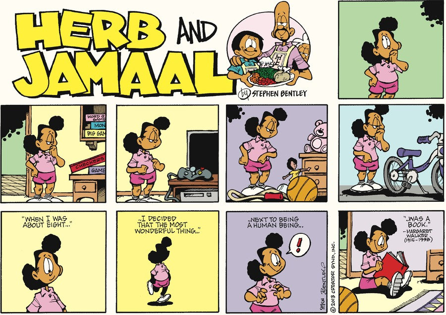 Herb and Jamaal for Mar 31, 2013 Comic Strip