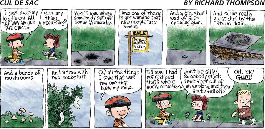 Cul de Sac Comic Strip for August 22, 2010