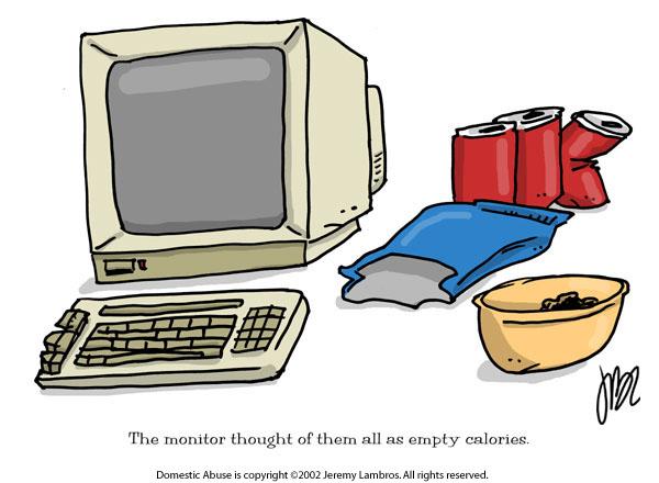 Domestic Abuse Comic Strip for June 29, 2005