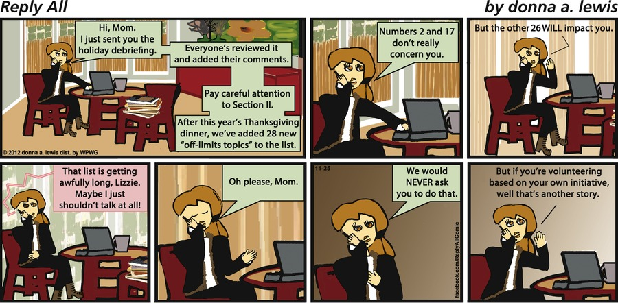 Reply All for Nov 25, 2012 Comic Strip