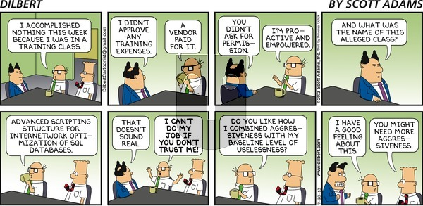 Dilbert - Sunday July 28, 2013 Comic Strip