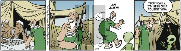 Alley Oop - Monday March 30, 2020 Comic Strip