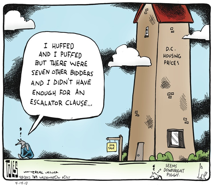 Tom Toles for Apr 14, 2013 Comic Strip