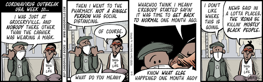 Candorville Comic Strip for May 11, 2020