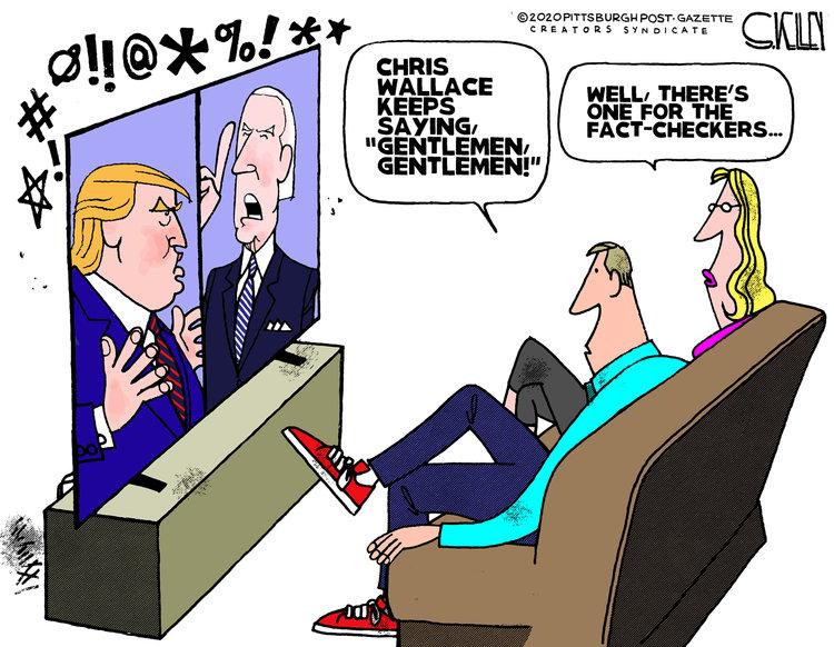 Steve Kelley Comic Strip for October 01, 2020