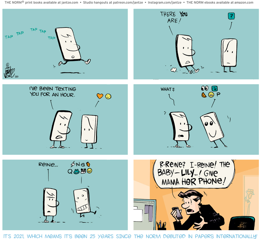 The Norm Classics Comic Strip for January 15, 2021