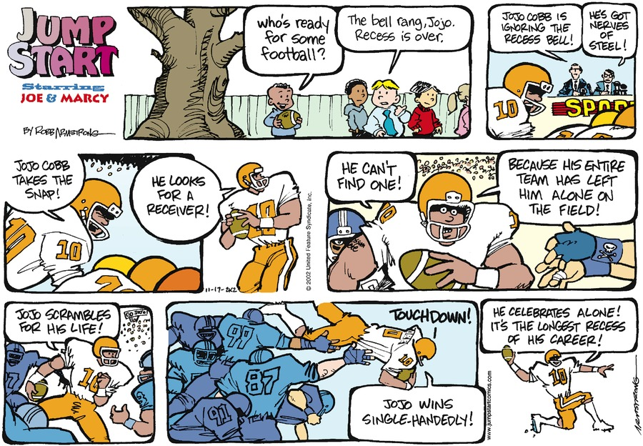 JumpStart for Nov 17, 2002 Comic Strip
