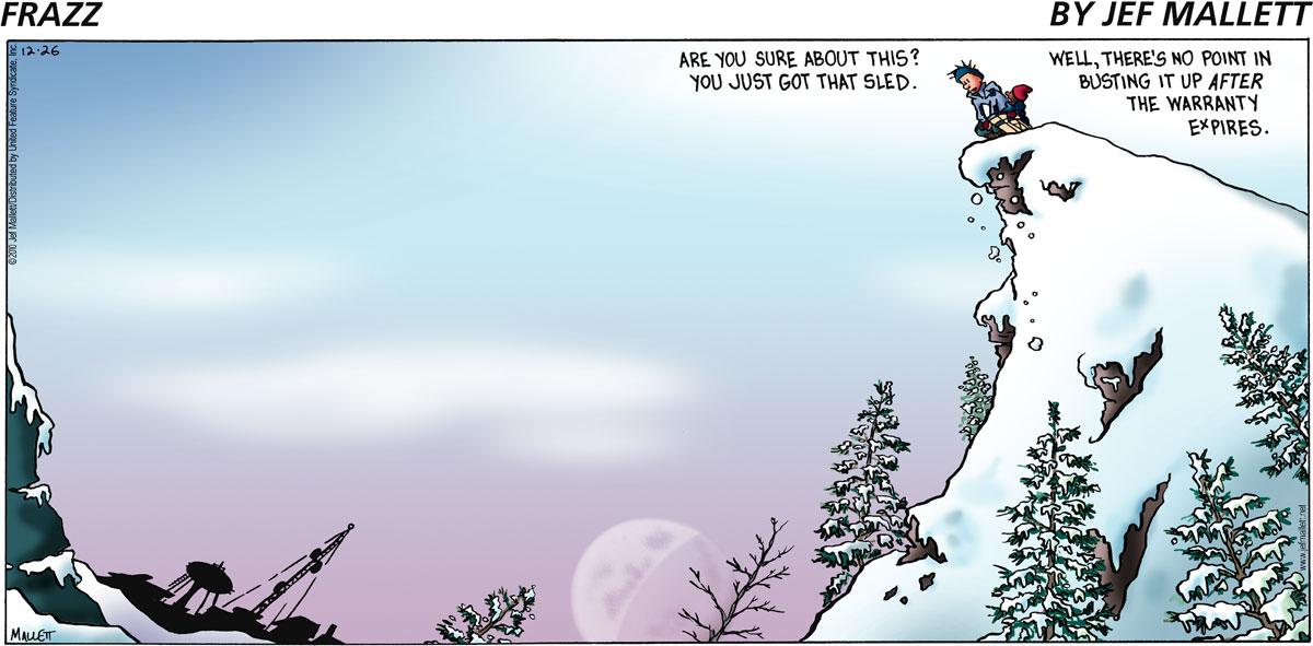 Frazz Comic Strip for December 26, 2010