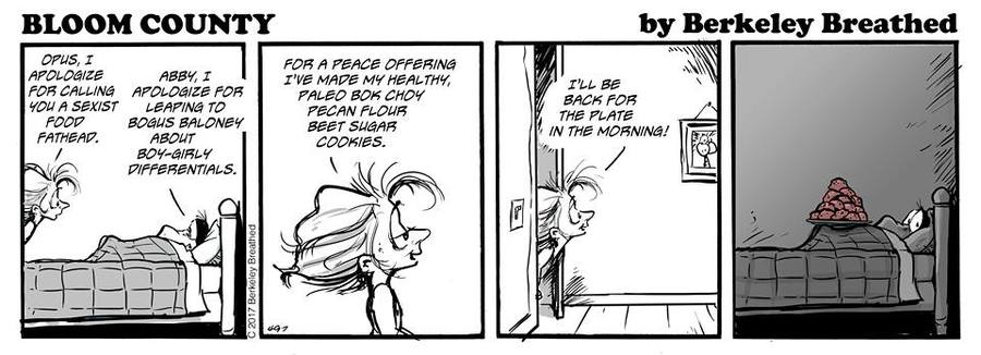 Bloom County 2018 for Oct 5, 2017 Comic Strip