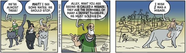 Alley Oop - Saturday March 21, 2020 Comic Strip